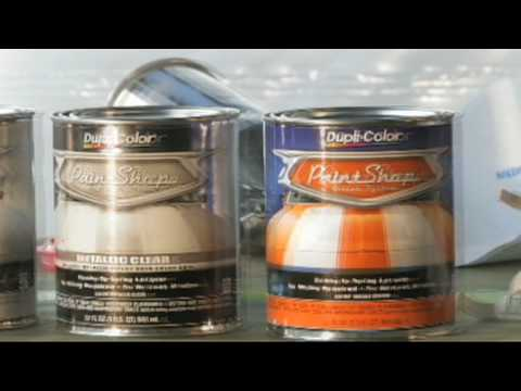 Dupli-Color® How To: Paint Shop Clear Coat - YouTube