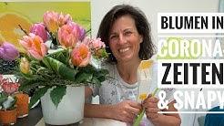 Der Blumenladen in Stay-Home-Zeiten, kreativ in Corona-Krise und wie du ungebetene Gäste los wirst