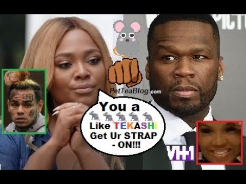 Teairra Mari Drags 50 Cent says 6ix9ine Learned to Snitch After He Diss Her Over Money She OWES 🐀