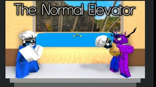 Roblox The nomal elevator part 2