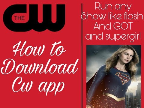 How To Download CW App