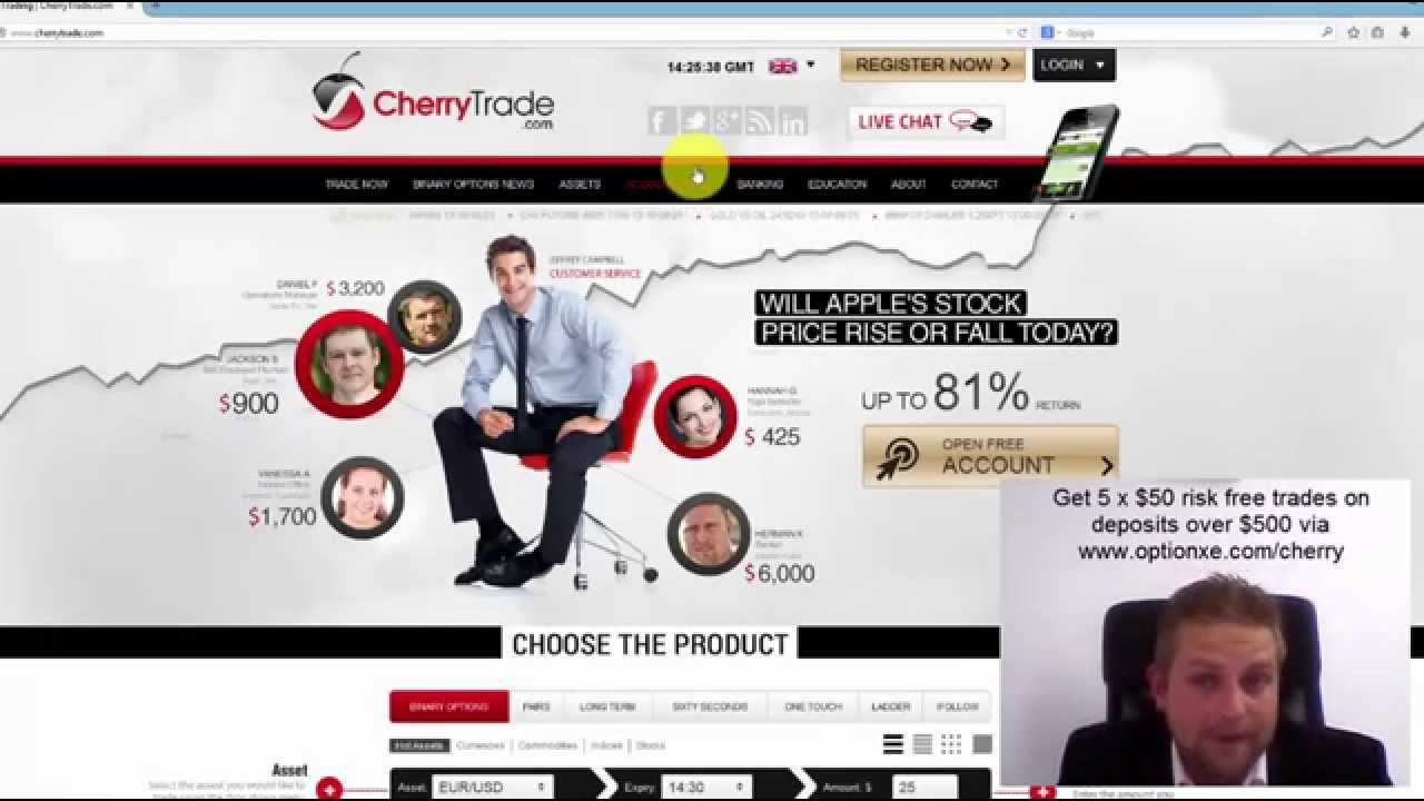 Cherry Trade Review | Binary Options Analyst