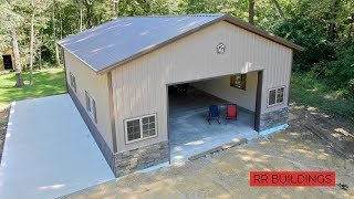 How To Build a Garage: Concrete and Final Walkthrough