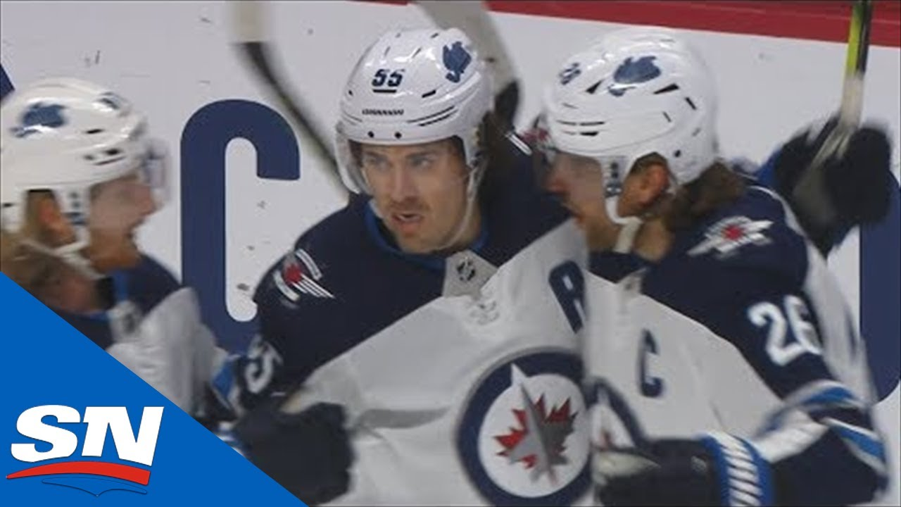 Mark Scheifele Ends 12-Game Goalless Drought, Then Completes Hat Trick