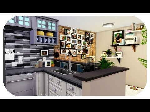 The Sims 4| Apartments Build | Dream Couple's  Apartments (S