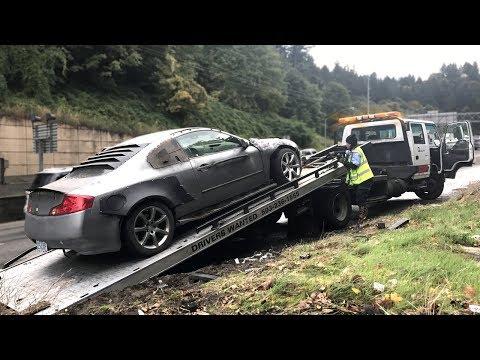 I Crashed The Apocalypse G35 😁 (Caught On Film)