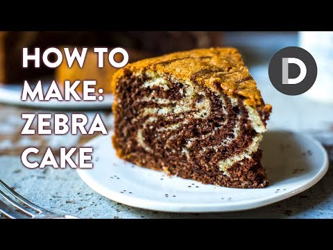 How to make... ZEBRA CAKE!