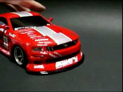 mini z awd drift ford mustang youtube. Black Bedroom Furniture Sets. Home Design Ideas