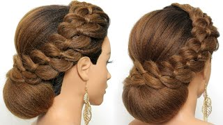 Stylish Wedding Prom Hairstyle For Long Hair Bride   Wedding Hairstyles   Best Wedding Hairstyle