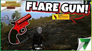 Best Way To Use Flare Gun in PUBG Mobile | Funny Moments | Triggered Insaan