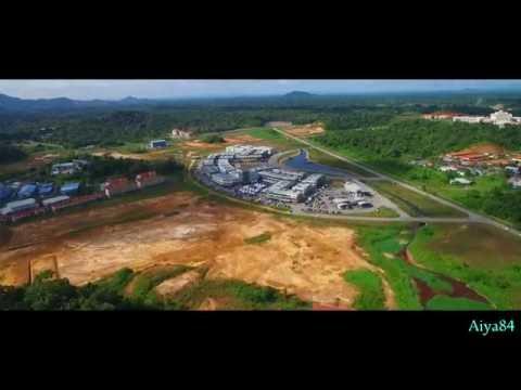 Sarawak Borneo Aerial View.(Dji Phantom 3 Professional).