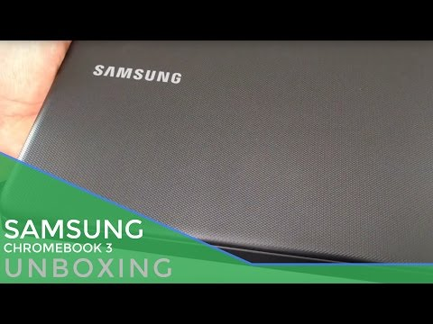 Black Friday Deal Unboxing: Samsung Chromebook 3