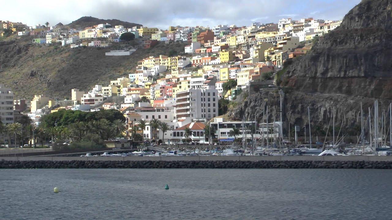 Port Of San Sebastian De La Gomera Full Hd