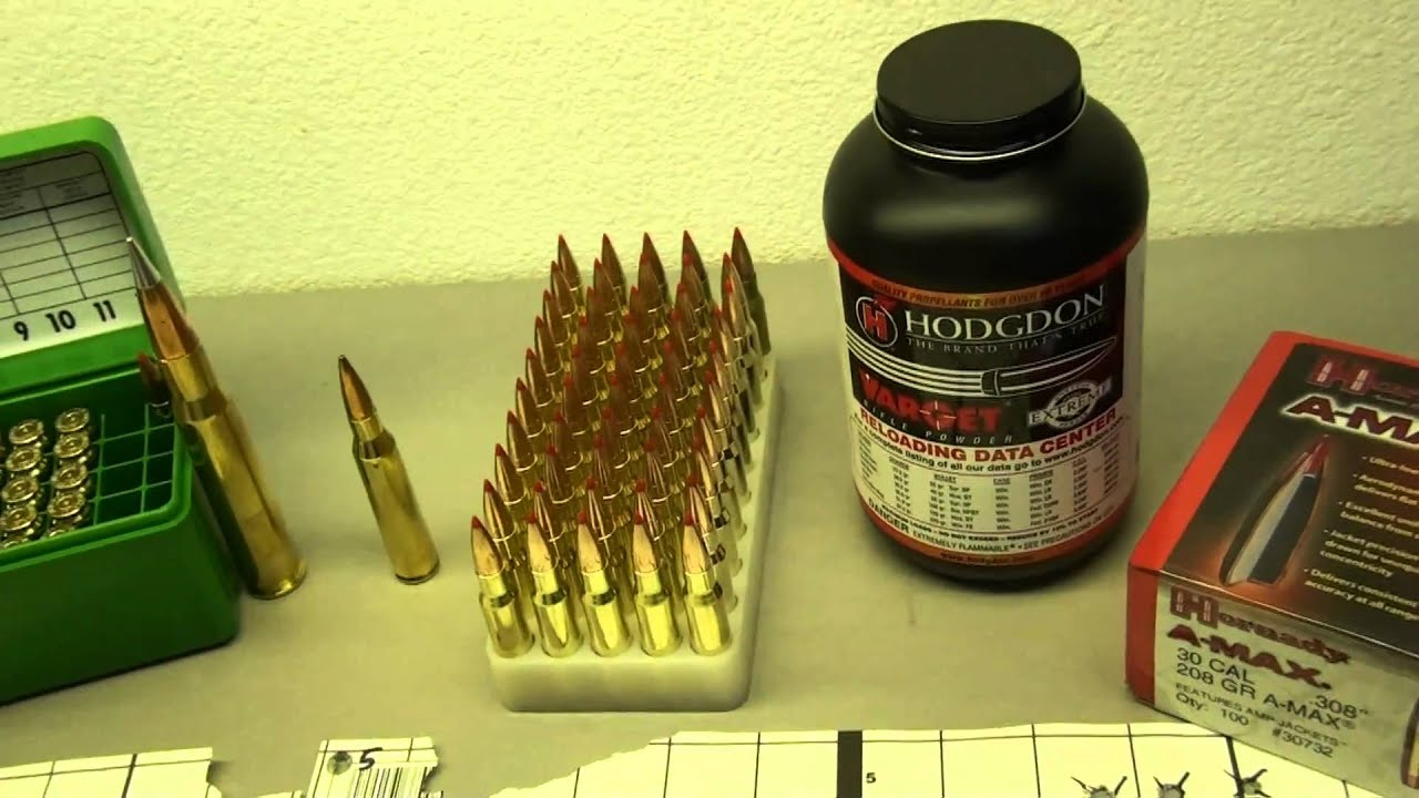 308 Win - 208gr Hornady ELD with Hodgdon Varget by Johnny's