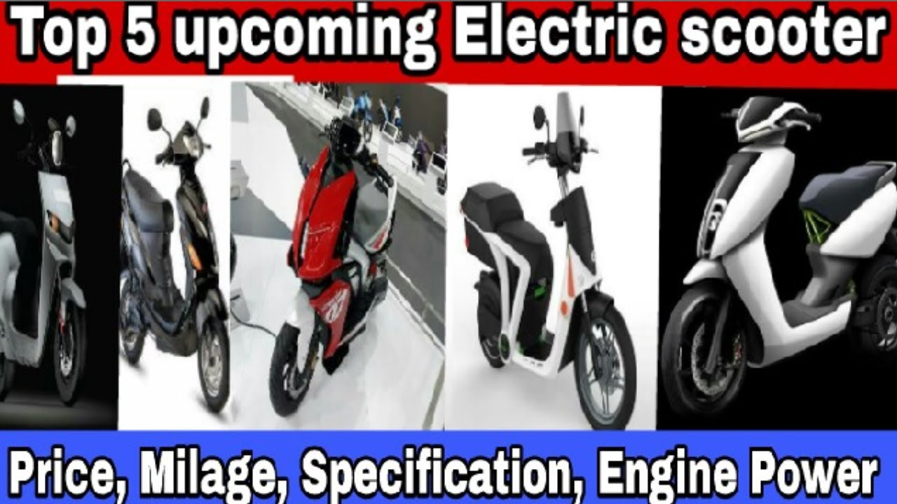 5 best upcoming electric scooter in India 2018 - Price, Milage, Engine  power- E scooter 2018