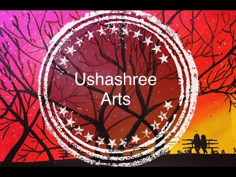 Oil pastel |for beginners | Ushashree Arts