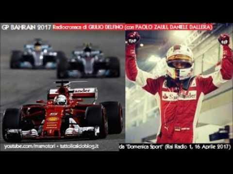 Gp Bahrain 2017 - Tutta la radiocronaca di Giulio Delfino (SAKHIR) da Rai Radio 1