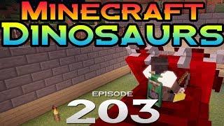 Minecraft Dinosaurs!    203    Messing up the dinos