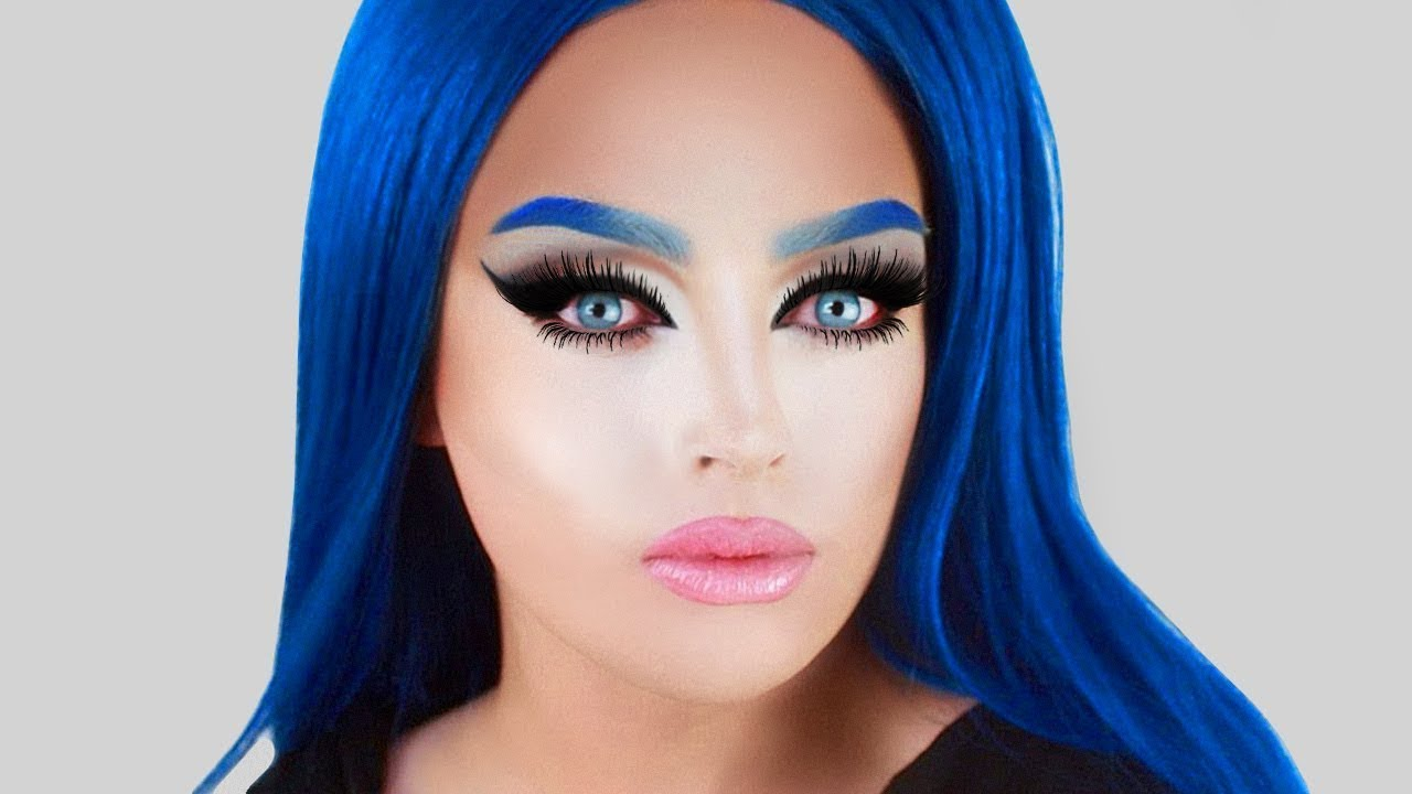 Detox Black And White Makeup Tutorial