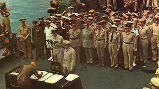 Japanese Surrender in HD Color 1945