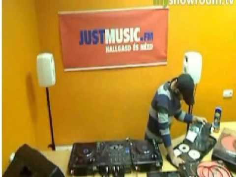 Peat Noise - Live @ Infinity Sounds , Justmusic.FM (06FEB2012)