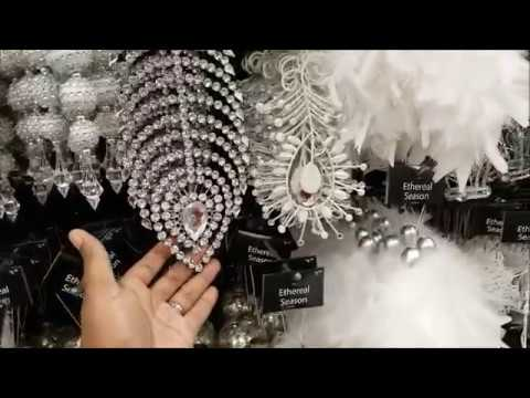 2017 AtHome Christmas Themes Preview / Amazing Ornaments & Decor!!!