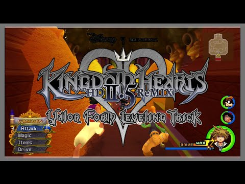 Kingdom Hearts HD 2.5 Remix - How To Level Up Valor Form! - YouTube