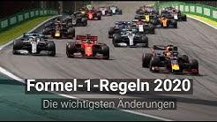 Formel 1 2020: Die Regeländerungen im Detail
