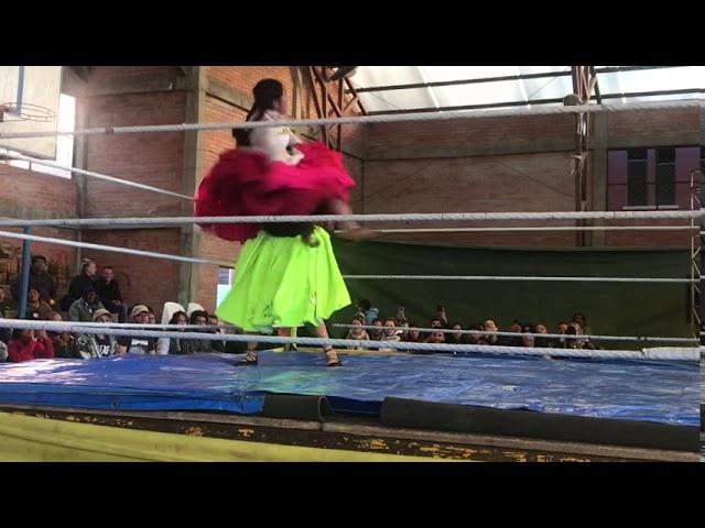 Lucha Libre in La Paz, Bolivia