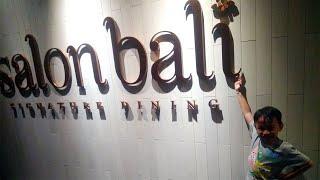 Wisata Kuliner Makan Malam di Salon Bali, Hotel Indigo Bali Seminyak Beach