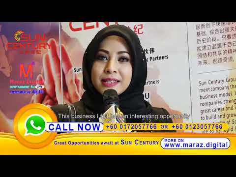 SUN CENTURY | NEW BUSINESS OPPORTUNITY | MR. MARAZ INDIAN MARKET HEAD