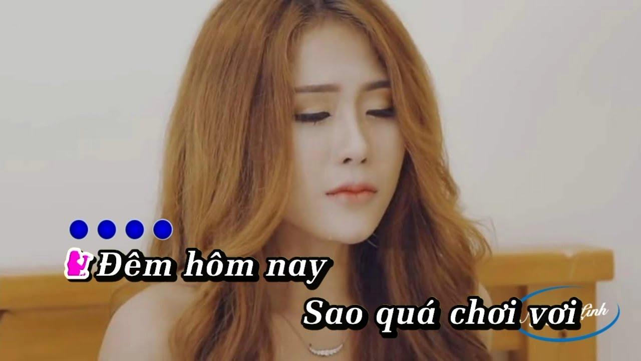 [ Karaoke ] Về Đây Em Lo | Huỳnh Ái Vy