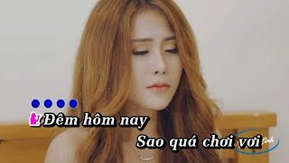 [ KARAOKE ] Về Đây Em Lo Karaoke | Beat, Huỳnh Ái Vy