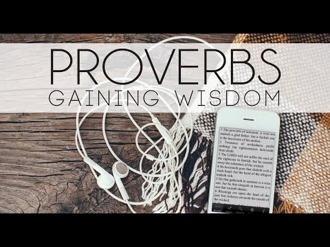Diligence Works and Gaining Wisdom- Proverbs