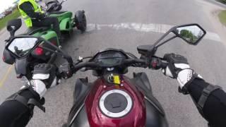 2016 kawasaki z1000: test ride demo day!!!!!!!!