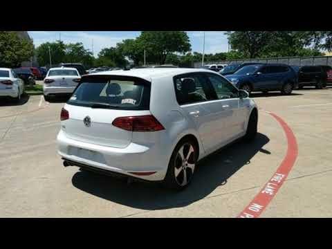 Used 2016 Volkswagen Golf GTI Dallas TX Garland, TX #P8056V - SOLD