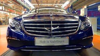 Mercedes-Benz Produces First New E-Class W213