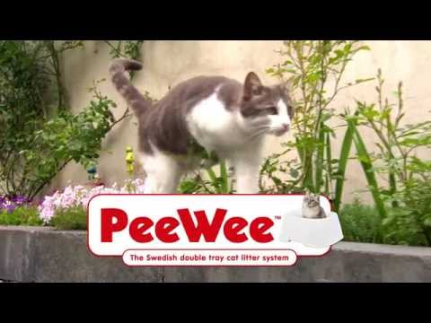 PeeWee cat litter system