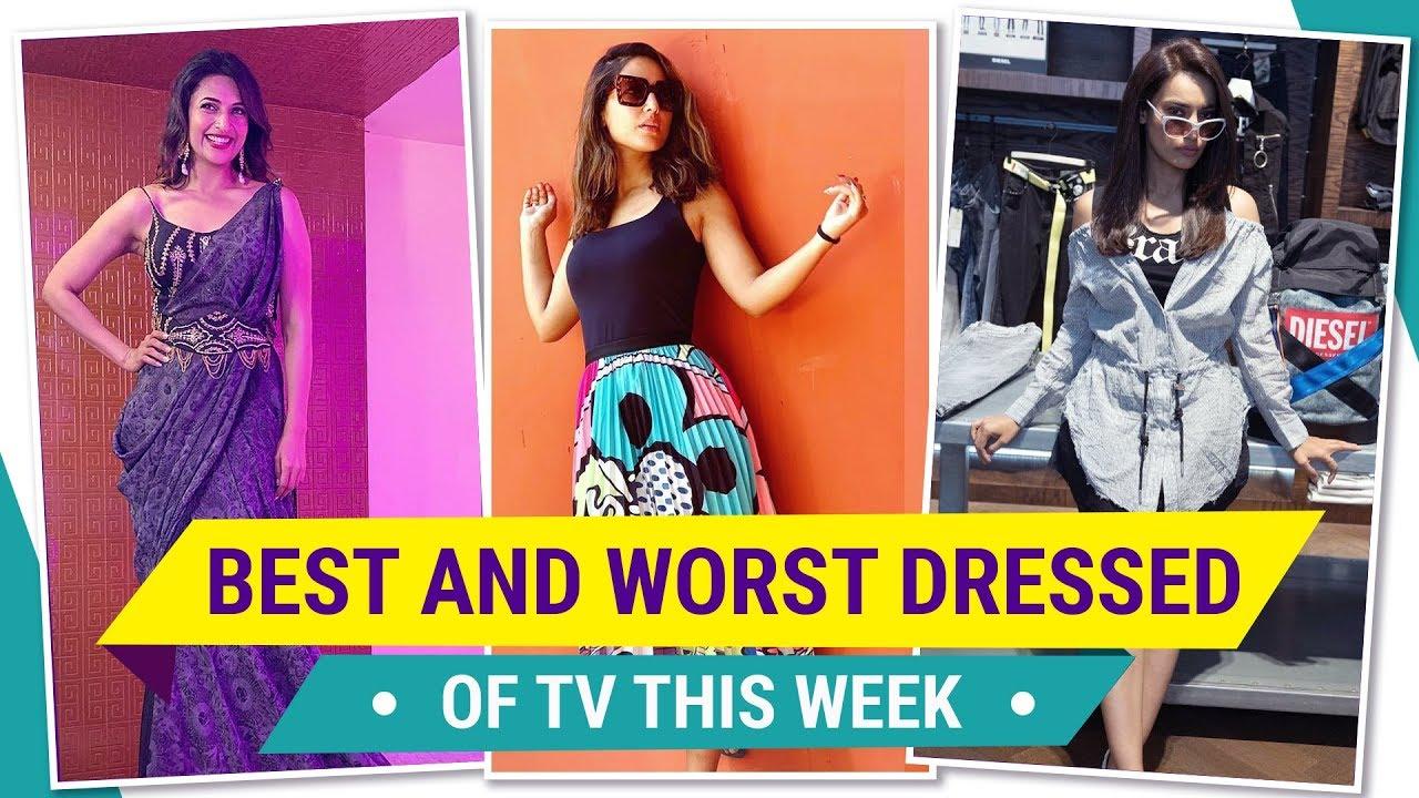 Hina Khan, Mouni Roy, Divyanka Tripathi : TV's Best and Worst Dressed of the Week | Pinkvilla