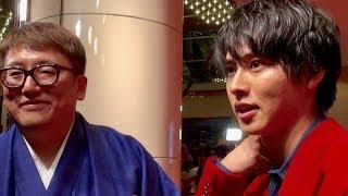 俳優の山崎賢人が9月28日、丸の内ピカデリーで行われた映画『斉木楠雄の...