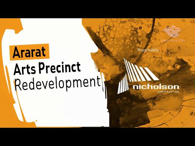 Ararat Arts Precinct Redevelopment Update 05