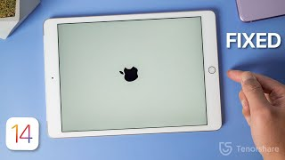How to Fix iPad Stuck on Apple Logo/Boot Loop without Losing Any Data