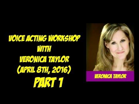 MEFCC 2016 - Veronica Taylor voice acting workshop part 1