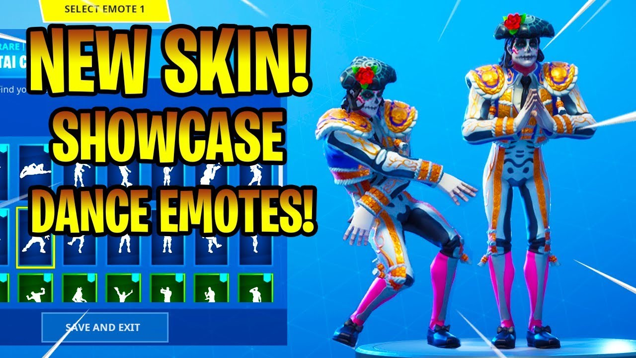 New dante skin showcase with dance emotes fortnite - Fortnite dante ...