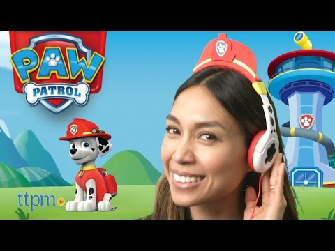 Paw Patrol Volume Reduced Marshall Chase Headphones From Spin Master
