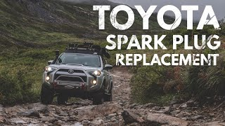 Spark Plug Replacement for Toyota 4.0 V6 1GR FE