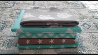 видео Детское постельное белье для новорожденных в кроватку