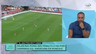 DENÍLSON SOBRE QUARTO LUGAR DO PALMEIRAS: É VEXAME! | JOGO ABERTO