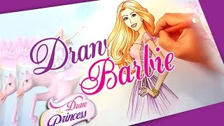 How To Draw Barbie Princess ❤ Drawing Tutorial Step By Step