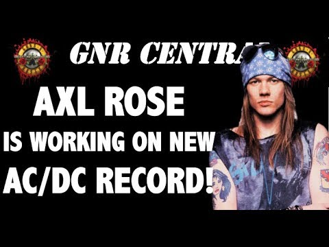 guns n 39 roses news axl rose recording new album with ac dc youtube. Black Bedroom Furniture Sets. Home Design Ideas